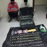 بالصور الداخلية البحرينية :القبض على آسيويين بحوزتهما 2 كيلو هيروين وكيلو ماريجوانا تقدر بقيمة 200 الف دينار