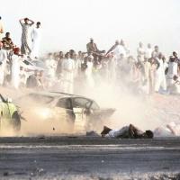 بالفيديو والصور حادث أثناء التفحيط تسبب بإصابات بليغة في سلطنة #عمان