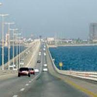 #البحرين : رداً على الإشاعات نقدم لكم رابط تغطية مباشرة تبين لكم الحركة المرورية على جسر الملك فهد على مدار الـ 24 ساعة