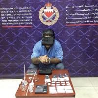 #البحرين :شرطة مكافحة المخدرات تقبض على مواطن وأجنبية بتهمة الترويج لمادة الشبو المخدرة